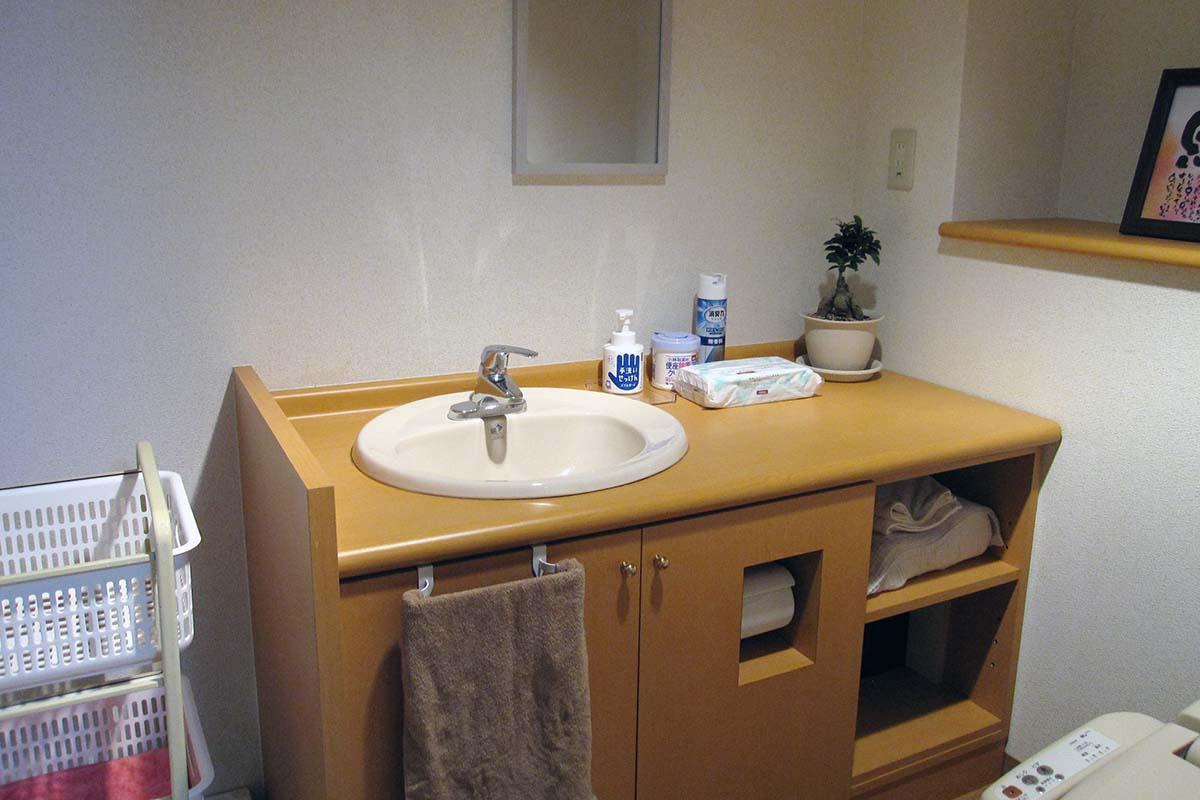 木屋町サロンの洗面所